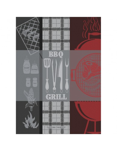 Torchon Barbecue, charcoal