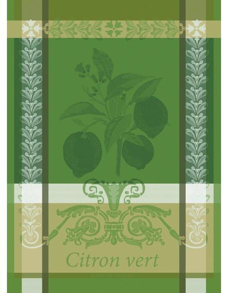 Torchon Citron vert acide