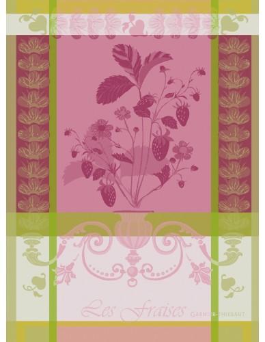 Torchon Fraisier rose
