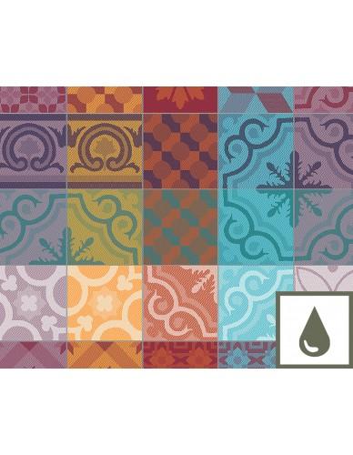 Set de table rectangulaire GARNIER-THIEBAUT  Mille Tiles