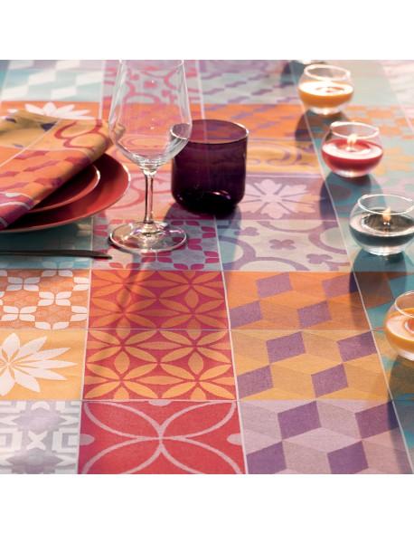 Serviette de table Mille tiles multicolore
