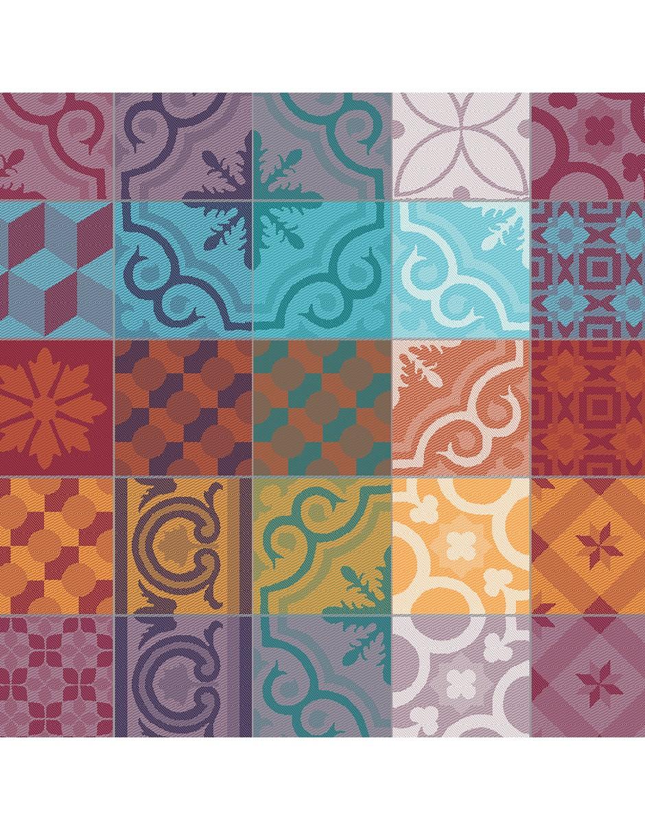 serviette de table mille tiles brin de mistral. Black Bedroom Furniture Sets. Home Design Ideas