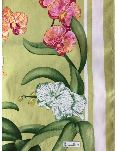 Serviette de table Orchidées