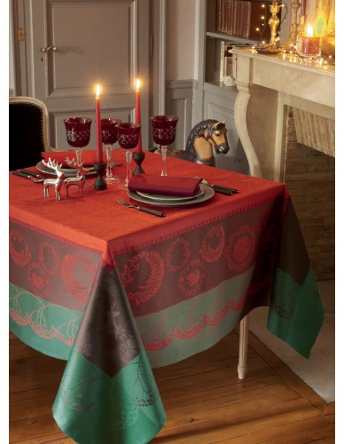 Nappe Christmas forest