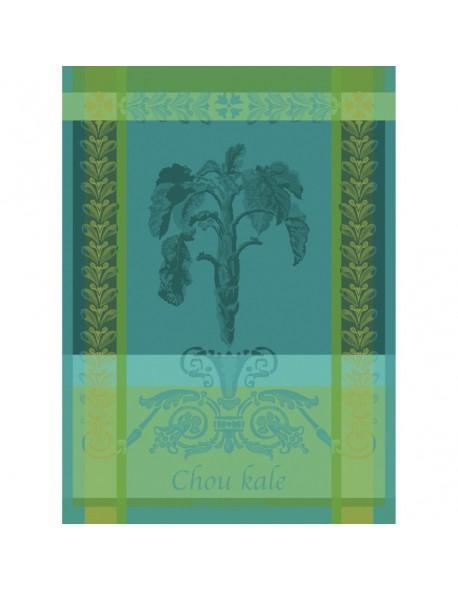 Torchon Chou Kale bleu