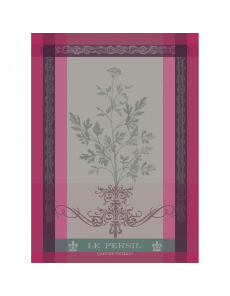 Torchon Le Persil rose