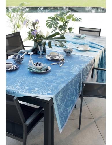 Nappe Paradis bleu