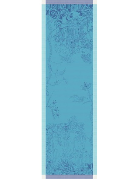 Centre de table Paradis bleu