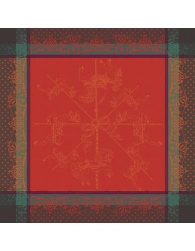 Serviette Carrousel Noël