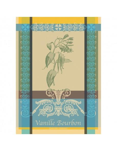 Torchon rectangulaire Vanille bourbon éden